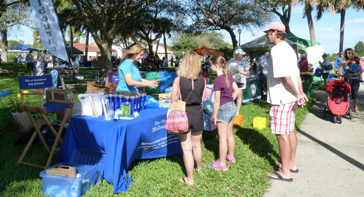 Indian River Lagoon Day 2015 Environmental Community Outreach Education Exhibit