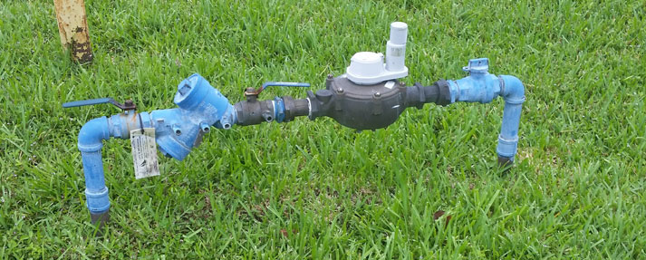"2"" Potable Water Meter and 2"" Double Check Backflow Prevention Assembly"