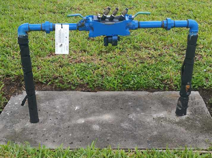 "1"" Reduced Pressure Principle Backflow Prevention Assembly"