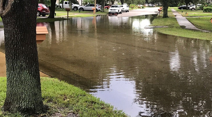 Image of street flooding.