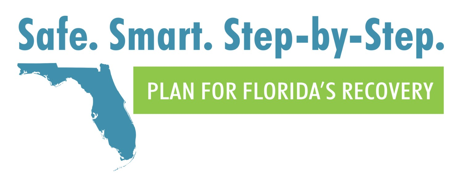 Florida Safe Smart Step-by-Step Plan fr Florida's Recover logo