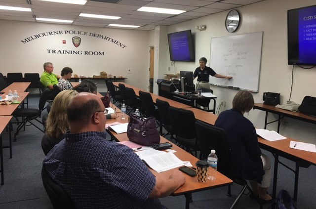 Critical Incident Stress Management Group Crisis Intervention course at the MPD in May 2017